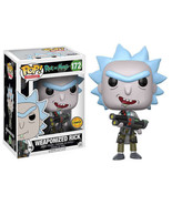 Rick and Morty Funko POP! Vinyl Chase exclusive - Weaponized Rick (Open-... - $35.90