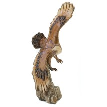Kitchen Table Decor, Soaring Patio Accent Home Entryway Eagle Figurine S... - $26.19