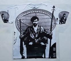 Huey Newton T Sublimated shirt black panther power Assata Shakur civil rights - $33.99