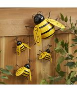 Bee Garden Wall Planter Decor Sculpture and Statues for Outdoor #729 - $40.00