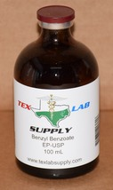 Tex Lab Supply Benzyl Benzoate NF/FCC/EP/USP - 100 mL - $9.95