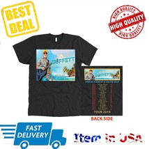 New Shirt Tour 2019 Jimmy Buffett T-Shirt All Size 2 Side Tee  - $23.99+