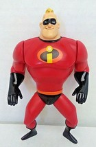 DISNEY PIXAR THE INCREDIBLES MR. INCREDIBLE ACTION FIGURE 2003 Hasbro Used - $25.00