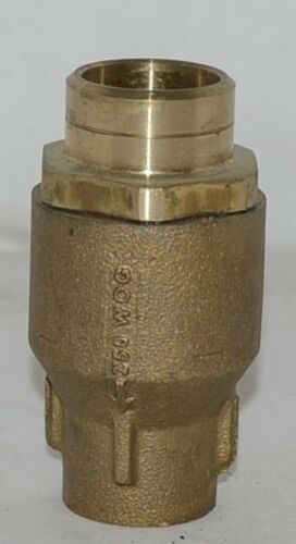 Watts LF601S Lead Free One Inch Silent Spring Check Valve 0555183