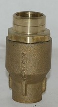 Watts LF601S Lead Free One Inch Silent Spring Check Valve 0555183 image 1