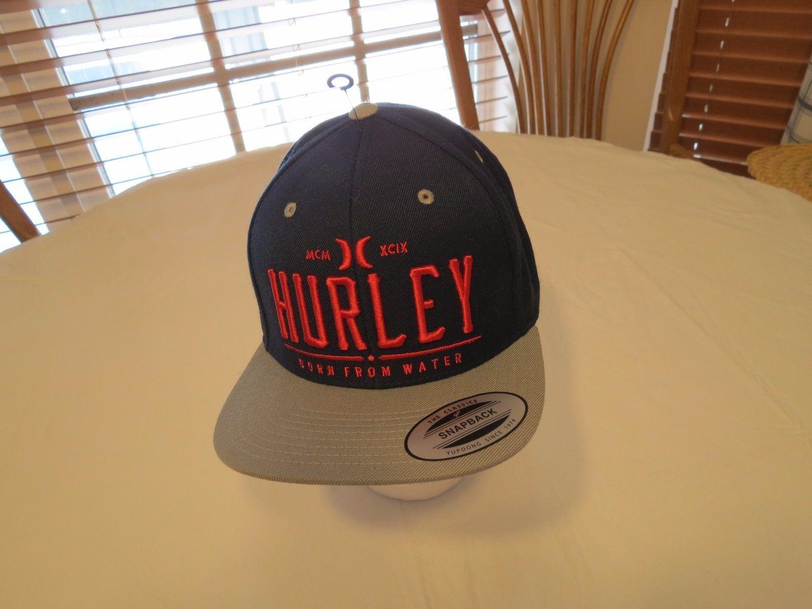 104b7a5ea Hurley Cap Hat snapback Men's adult NEW OSFM and 41 similar items