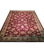 13 x 18 Burgundy Jaipur Wool Genuine Handmade Durable New Rug - $5,702.83