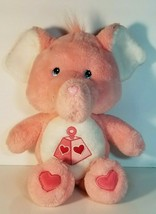 Care Bears Cousins Lotsa Heart Elephant Stuffed Animal Plush 2004 - $13.85