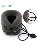 Air Inflatable Cervical Collar Neck Traction Tractor Support Massage Pil... - $14.99+