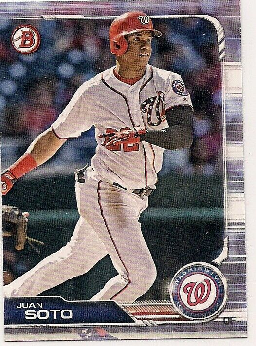 Primary image for 2019 Bowman #92 Juan Soto -Nationals