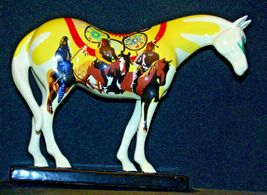 Ceramic Trail Of Painted Ponies #1468 Unity Westland Giftware AA-191996Collec image 3