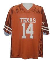 University Of Texas Longhorns Football Jersey Mens XL 14 NCAA College Un... - $19.76
