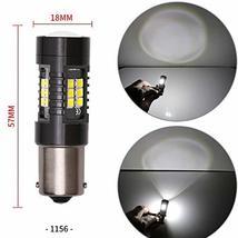 1156 LED Bulbs 2400 Lumens Xenon White Extremely Bright BA15S 7506 1003 1141 107 image 7