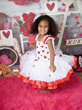 Valentines Day Tutu, Red Hearts Tutu, Cupid Tutu Dress - $60.00+