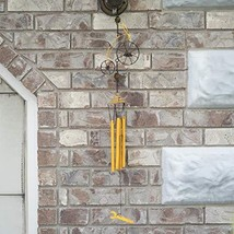 """ReLive 34.5"""" Bike Wind Chime Yellow - $19.42"""