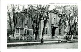 Vintage ~1940s Kodak Postcard RPPC Lawrence County Court House Louisa, KY - $54.95