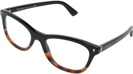 Prada PR05R TKA-1O1 Black/Havana Frame 53mm Eyeglasses - $125.13