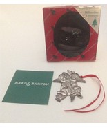 Reed And Barton Cherub Millennium Christmas Ornament Love Faith Hope 2000 - $3.99