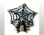 Bp42 spider web  brooch 2 inch thumb155 crop