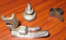 Singer 99 Standard Presser Foot, Hinged: # 32773,Thumb Screw & Thread Cu... - $12.50