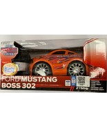 Kids Stuff Orange Ford Mustang Boss 302 Radio RC Control Ages 6+  - $10.88