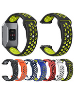 22mm Small Watch Band Colorful Silicone Strap Relacement for Fitbit Ioni... - $14.20