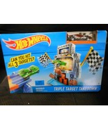 "Mattel ""Hot Wheels - Triple Target Takedown NEW Includes 1 Car & 1 Track  - $13.02"