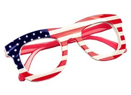 Children Eyeglass Frames American Flag Party Decorative Glasses Frame