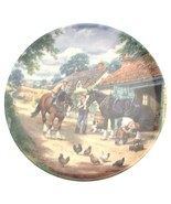 Royal Doulton At the Smithy Stan Mitchell Village Shires CP1257 - $30.72