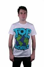 Dope Couture Top Del Mundo Camiseta Blanca