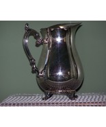 VINTAGE WATER PITCHER by WM ROGERS INTERNATIONAL SILVERPLATED - $55.00
