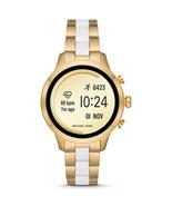NEW WOMENS MICHAEL KORS (MKT5057) RUNWAY ACCESS GOLD TOUCHSCREEN SMART W... - $197.99