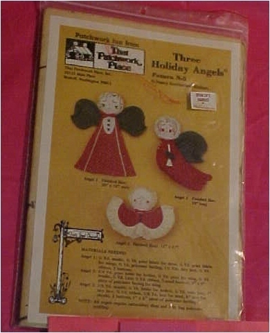 Pattern, Crafts, 3 Holiday Angels by That Patchwork Place, Inc. Other