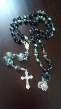 Blue Oyster Pearls Rosary - $19.00
