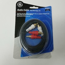 GE Audio Cable Dual RCA Plugs 6ft. AV22607 - $7.19