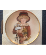 """Jan Hagara """"Chris"""" limited edition collectors plate (signed) - $25.00"""