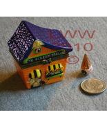 Haunted Eye Scream Parlor Porcelain Trinket Box New - $5.99