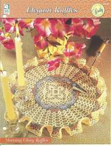 Morning Glory Ruffles Doily~Elegant Ruffles Crochet Pattern - $1.99