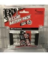 Genuine RadioShack 9.6V 1000mAh NI-Cd Rechargeable RC Car Battery w/ Tam... - $24.74