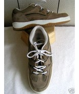 Utility Taupe Suede Shoes men's 5 women's 7 - $10.00