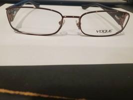 NEW VOGUE VO3910 811 Eyeglasses Frame 53-17-135 Brown Polish PERFECT AUT... - $53.46