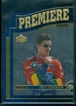 1997 Upper Deck Road To The Cup Premiere Position #PP11 Jeff Gordon - $10.88