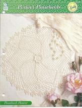 Pinwheel Flower Doily~Perfect Pinwheels Crochet Pattern - $1.99