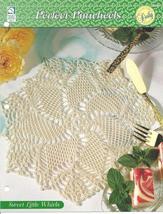 Sweet Little Whirls Doily~Perfect Pinwheels Crochet Pattern - $1.99