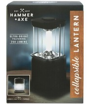 Hammer & Axe Collapsible Lantern (Black, 5.9″ x 3.9″ x 8.6″) - $33.20 CAD