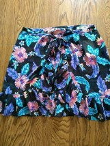 Miken Swim Beach Cover Up Skirt Size L image 1
