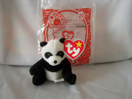 MING the Panda Bear #20 2009~Retired~Ty Teenie Beanie McD 30 Yrs Happy M... - $9.95