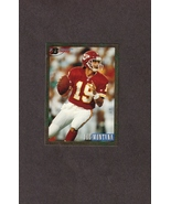 1993 Bowman # 200 Joe Montana Kansas City Chiefs - $1.99