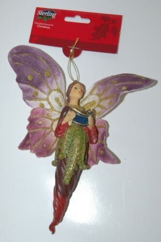 Sterling 5109018 Singing Icicle Angle Holding Scroll Christmas Ornament