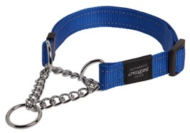 Reflective Nylon Choke Collar Slip Show Obedience Training Gentle Choker for Ex - $39.45